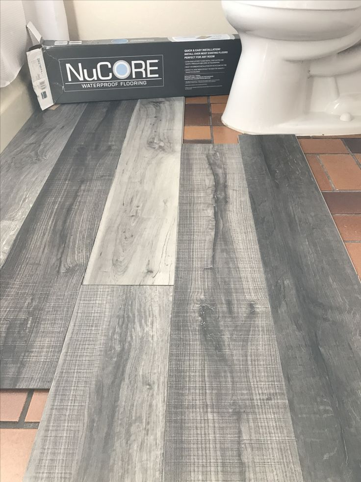 Vinyl plank flooring that\u0027s waterproof Lays right on top of your - losetas tipo madera