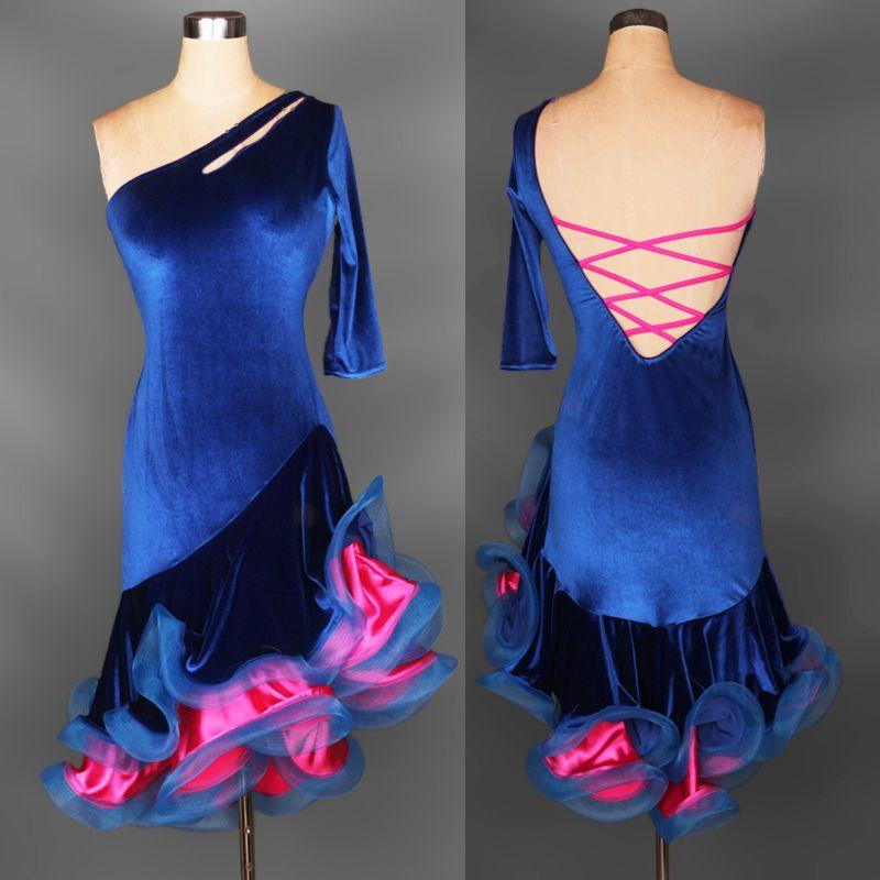 Adult Child Custom Plus Size Latin Dresses Ballroom Dancing Dresses