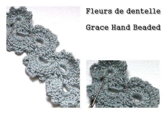 fleur de dentelle crochet pinterest le crochet le blog et toiles. Black Bedroom Furniture Sets. Home Design Ideas