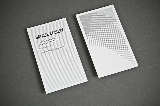 business card - simplicity