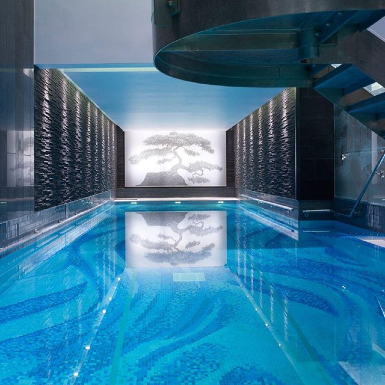 Swimming Pool At The Langham Hotel London Hotel Swimming Pool