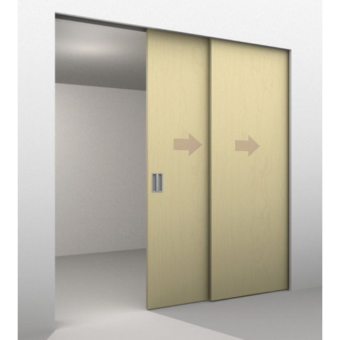 2 Door Telescopic Sliding Door Track Kit Max Door Width Per Panel 1200mm To Cover A Maximum Opening Of 2330mm Max Panel Weight 80kg With Images Sliding Doors