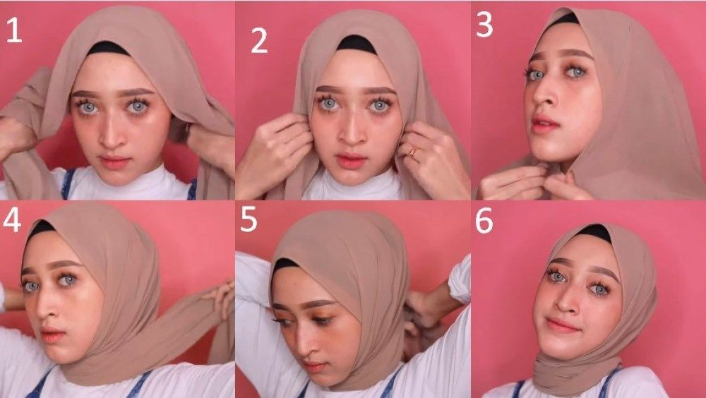 8 Tutorial Hijab Pashmina Simple Dan Mudah Kekinian Pas Untuk Remaja 29 Kursus Hijab Remaja Tutorial Hijab Mudah