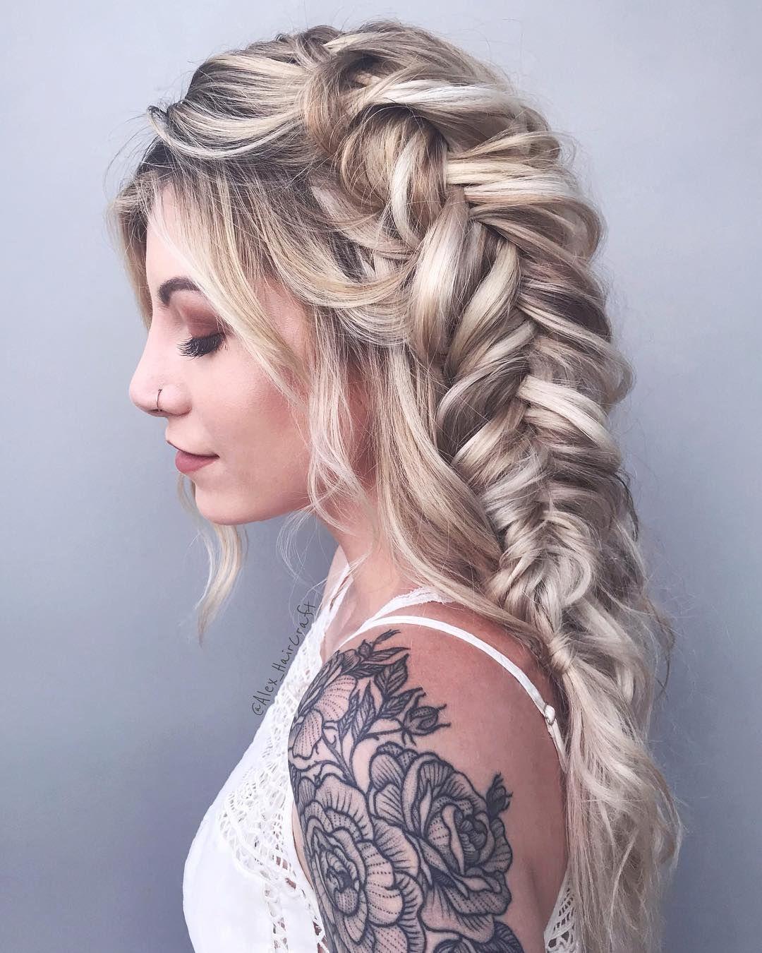 Gorgeous braided hairstyles alex pelerossi hair pinterest