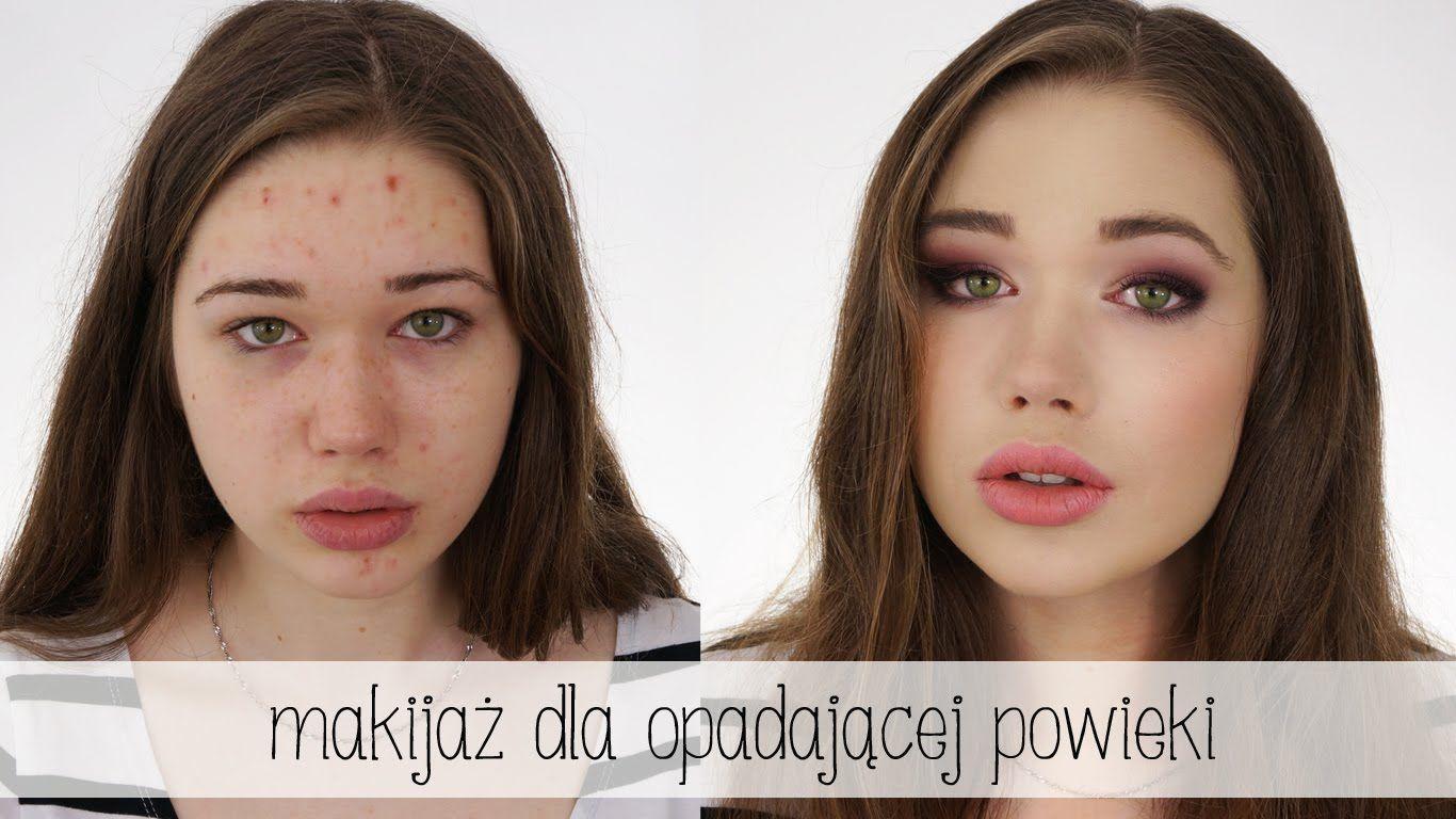 Makijaż Dla Opadającej Powieki Kamuflowanie Niedoskonałości