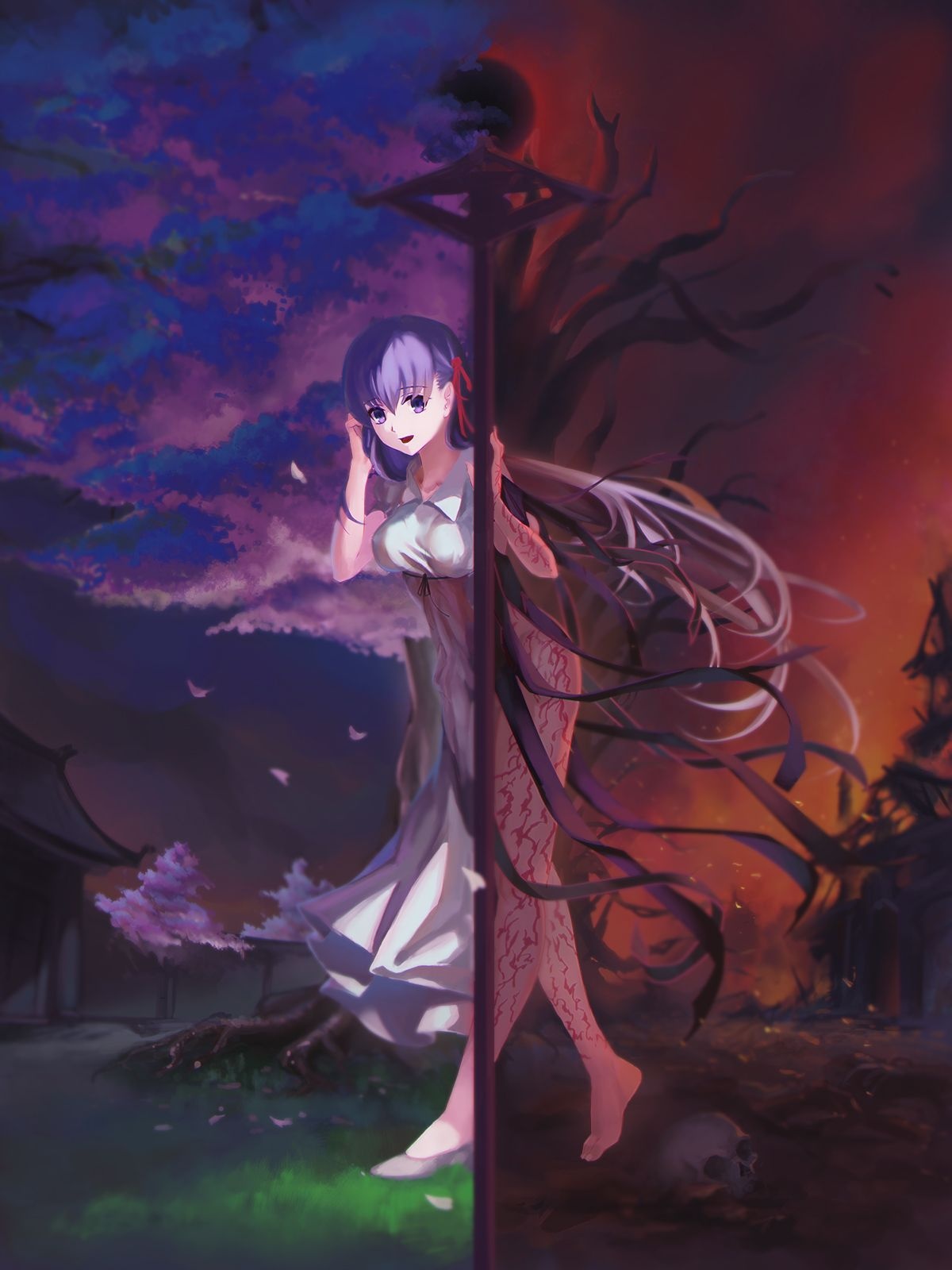 Dark Sakura Matou Sakura Fate Stay Night Sakura Anime Fate Stay Night