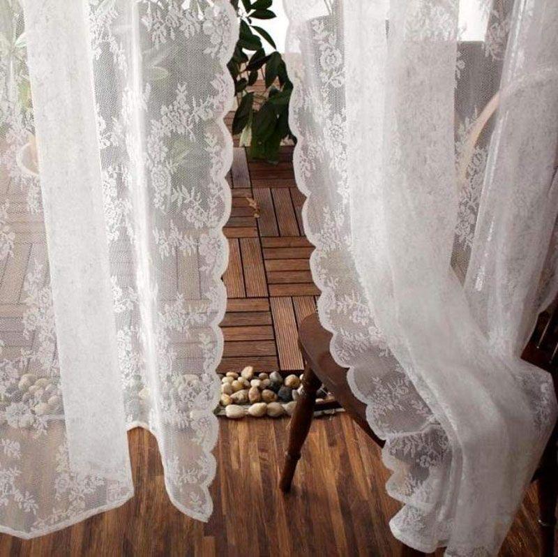 Le più belle tende Shabby chic per la tua casa! 40