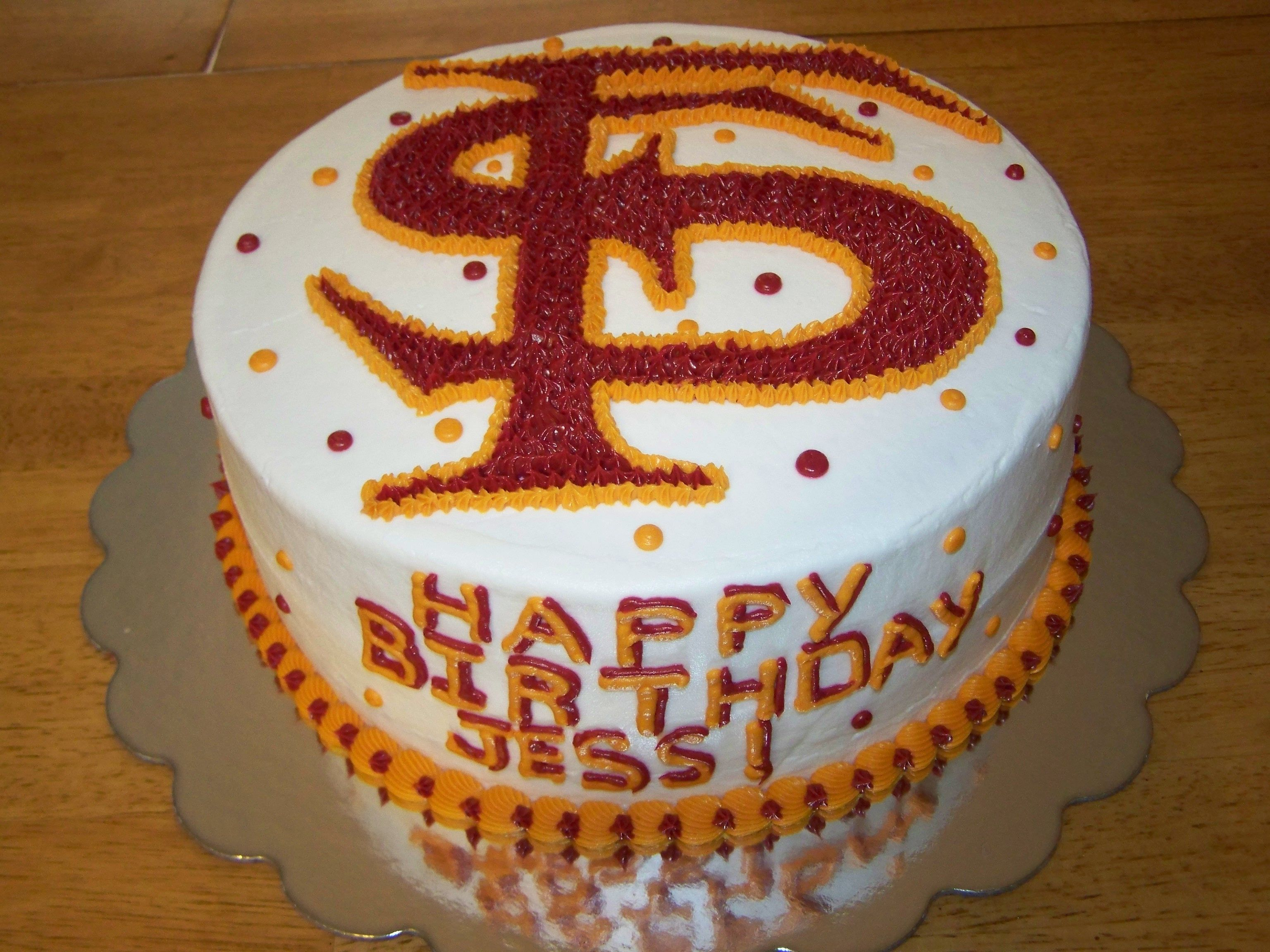 Florida State Cake With Images Cake Fun Desserts Perfect Cake