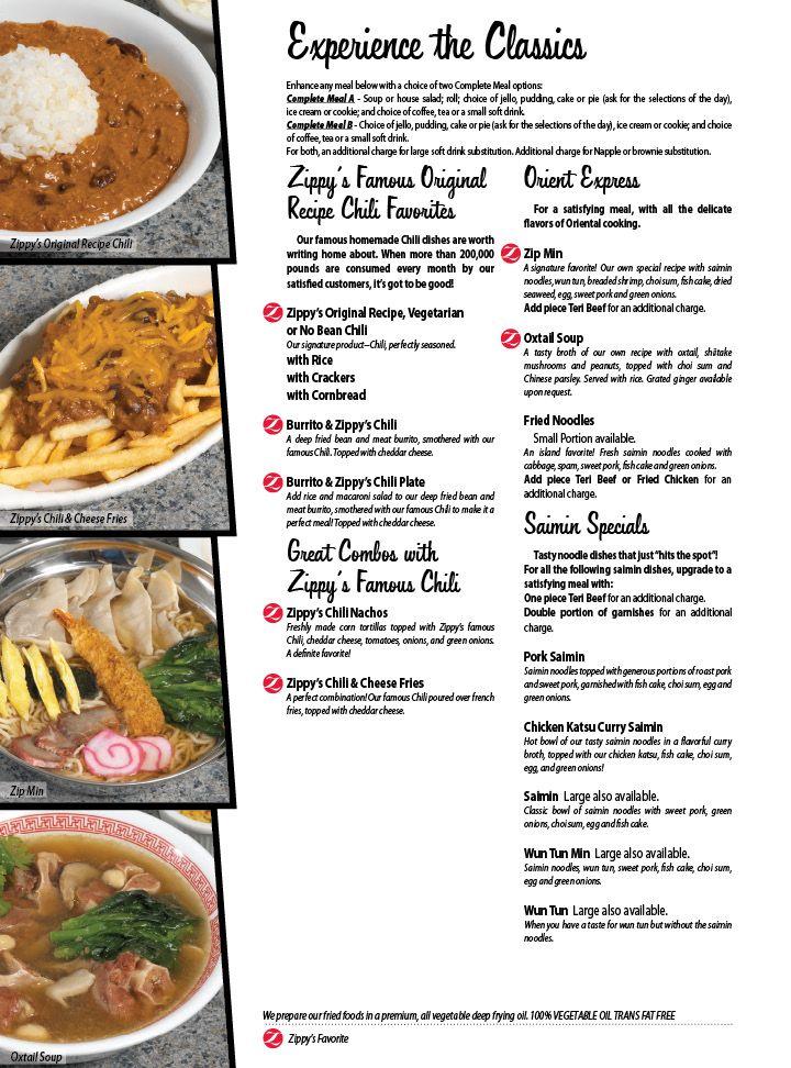 Omgod Menu From Zippysicken Katsu Curry Saimin Omg