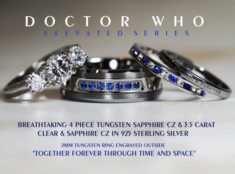 artiiee's uploaded images Cz wedding ring sets, Wedding