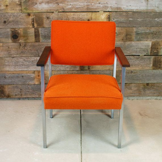 1960s Steelcase Mid Century Office Chair By