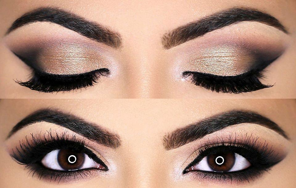 Bronze Smokey Cat Eyes........ #Deepika Thakur