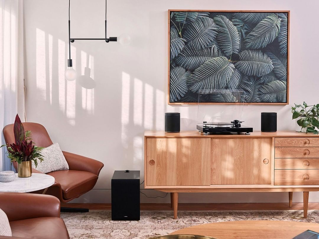 Platine Vinyl Meuble Scandinave Design Idee Deco Meuble Deco Salon Decoration Interieure