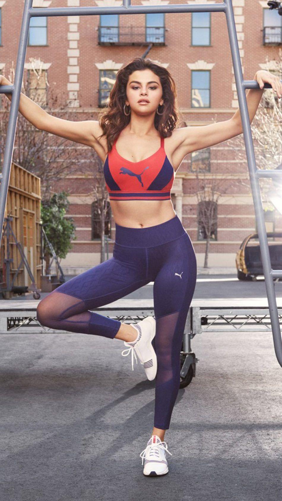 Photo of Selena Gomez Puma 2018 Free 4K Ultra HD Mobile Wallpaper