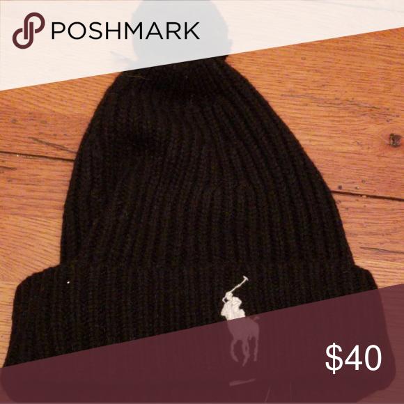 5f183c961 NWT - POLO R.L Knit Hat w/Lg. Logo....One Sz. NWT | My Posh Picks ...