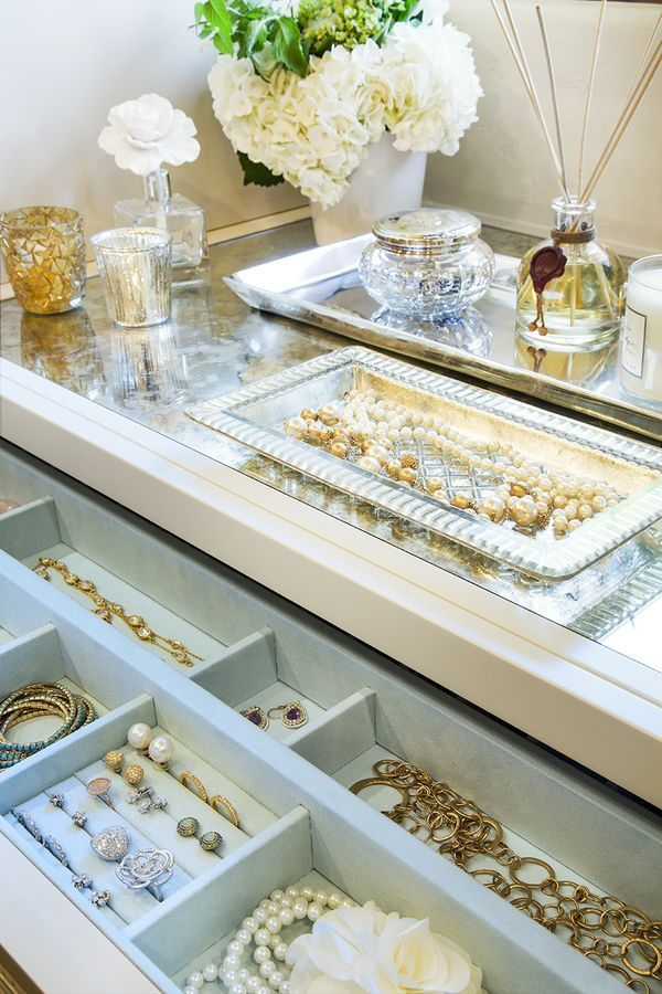 Walk in closet ideas | Jewelry drawer, Closet design ...