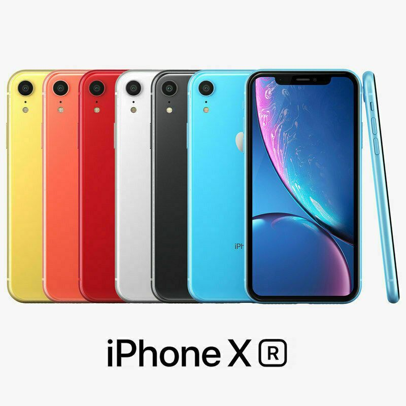 Apple iPhone XR 64GB White (AT&T) Cricket H20 Net10