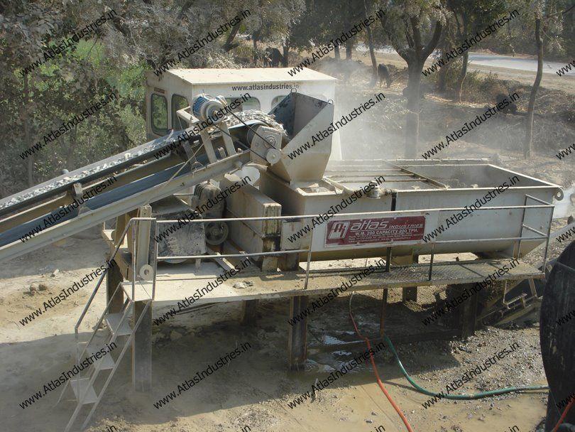 Pug Mill Mixing Unit Of Wet Mix Macadam Plant Road Construction