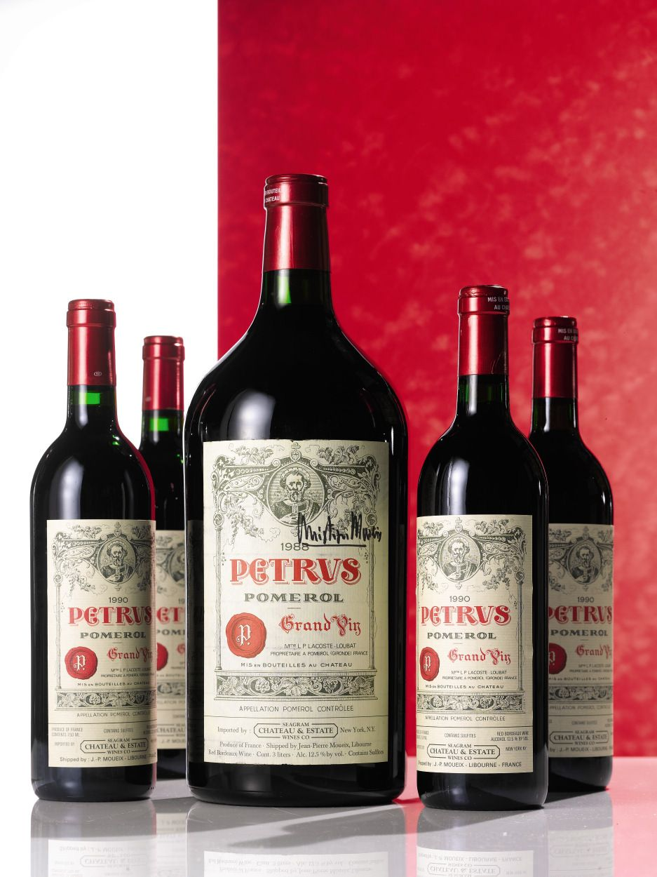 Considered As The Most Expensive A Chateau Petrus From 2005 Is Nowadays Sold 8000 A Bottle