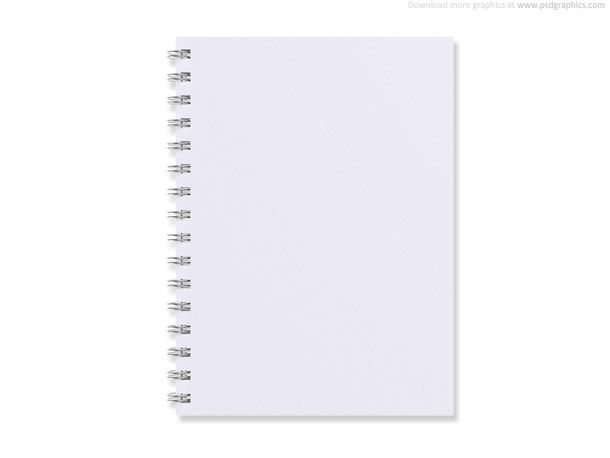 Blank notebook MATS Assignment-journal Pinterest Psd - notebook paper download