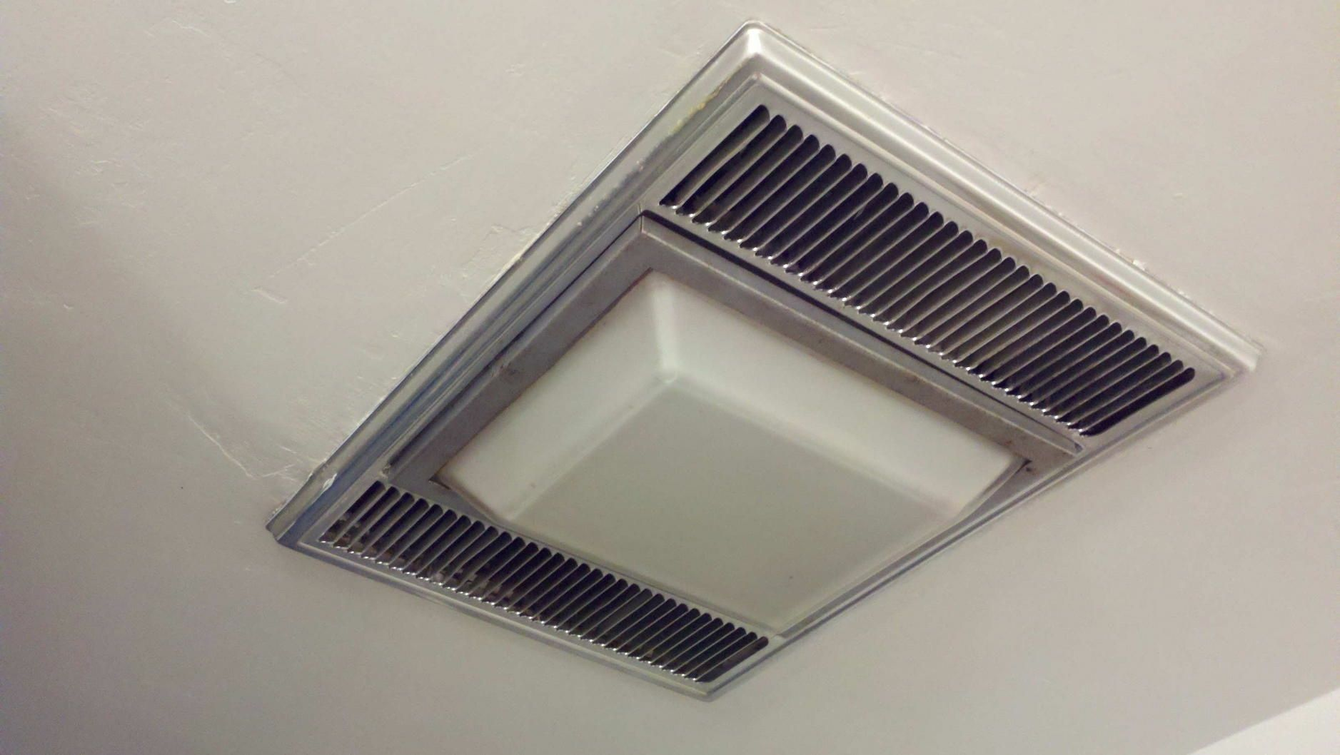 Bathroom Ceiling Exhaust Fan Light Heater  Http Captivating Bathroom Fan With Light Review
