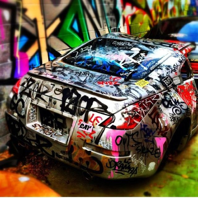 Ghetto Race Car