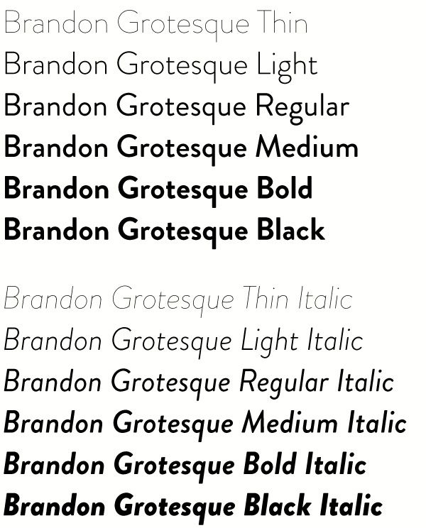 Brandon Grotesque Font Family Free Download - Fonts Empire