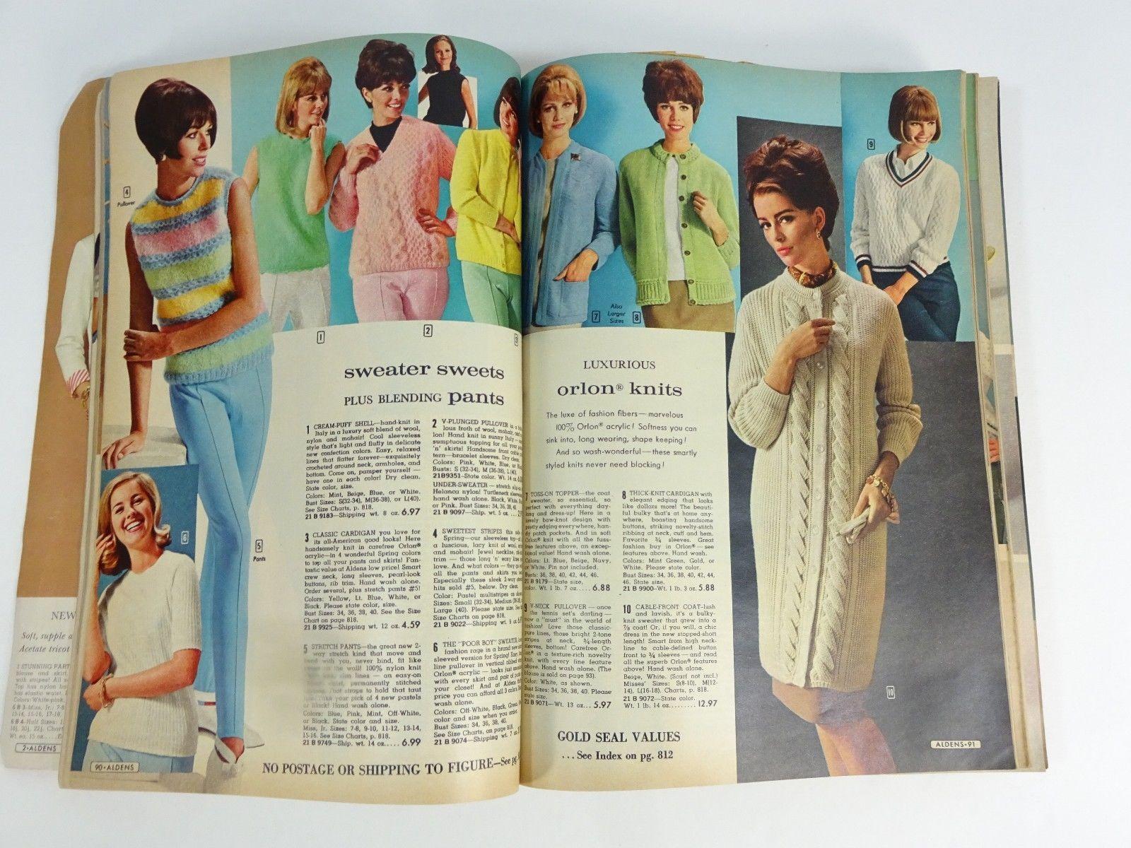 Vintage - 1966 Aldens Spring Summer Store Shopping Catalog - Chicago ...