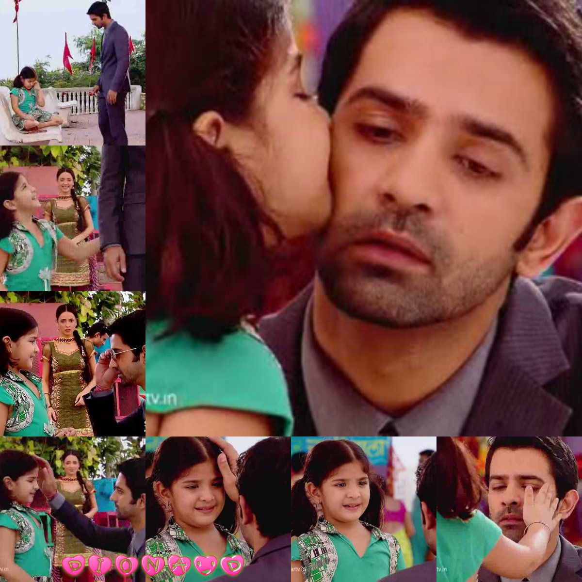 I love this scene its so cute when the girl kissed arnav and