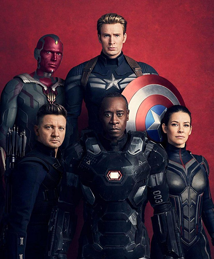Don Cheadle Paul Bettany Chris Evans Jeremy Renner And Evangeline Lilly In Avengers Infinity War 2018 Marvel Avengers Marvel Superheroes Marvel Movies