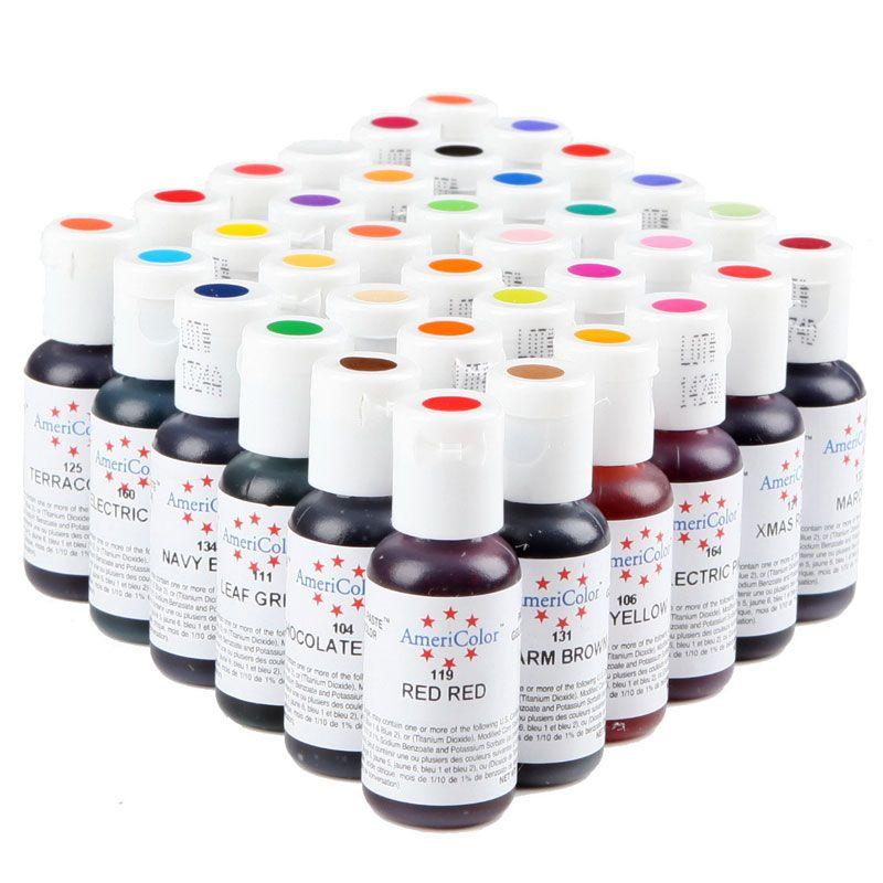 1 stücke Amerika Essbaren Creme Backen Pigment Lebensmittelfarbe ...