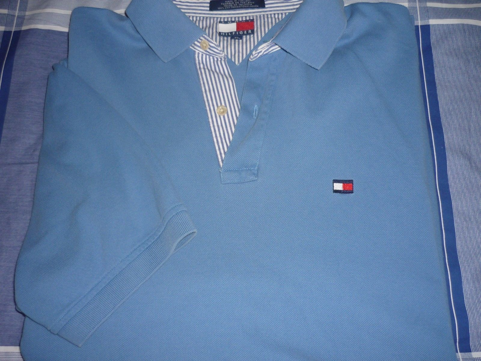 Tommy Hilfiger Short Sleeve Polo shirt Mens size XLLight