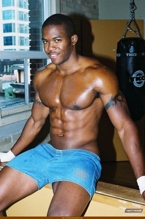 Sexy black guys gay porn