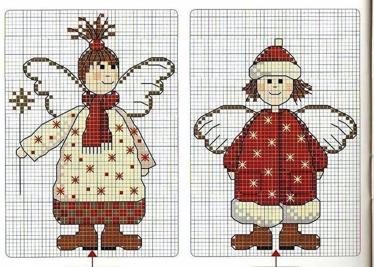 Zu süß... | angel | Pinterest | Süß, Kreuzstich und Weihnachten