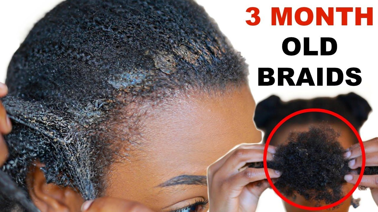 How To Safely Remove Detangle Natural Hair Dirt Build Up From