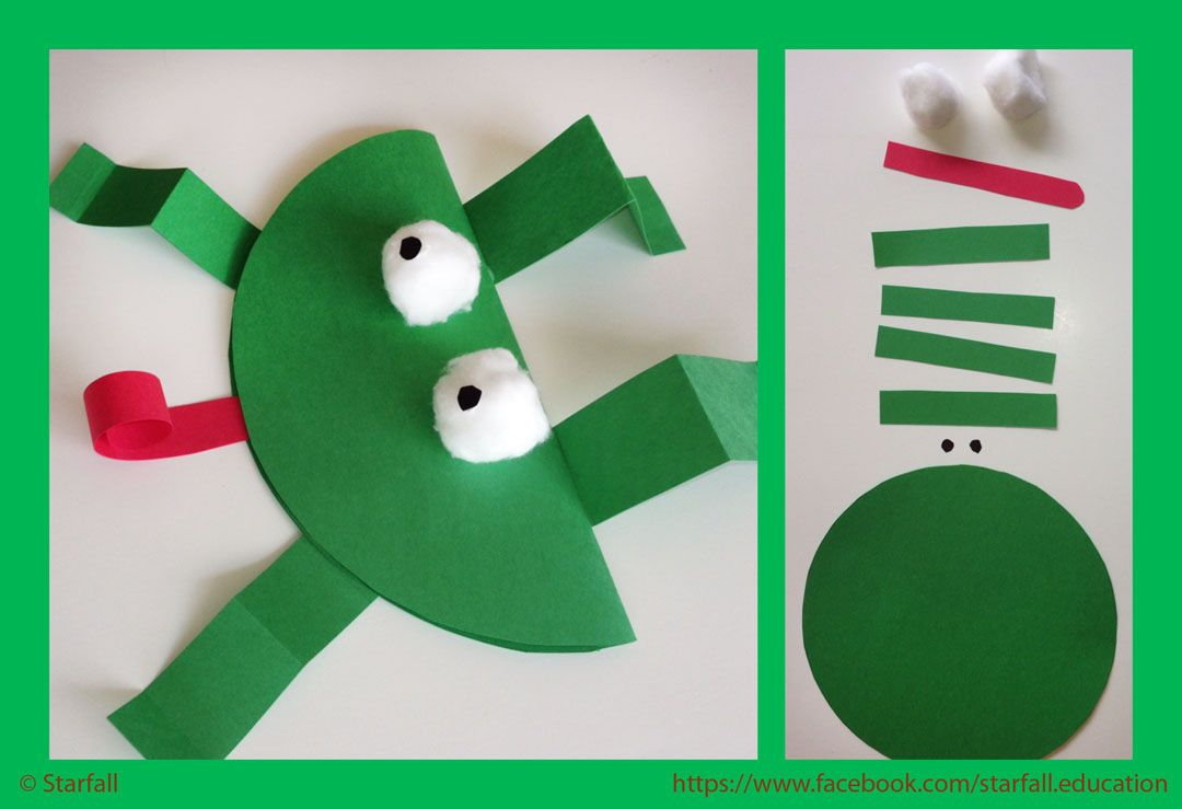 Frog Crafts For Toddlers