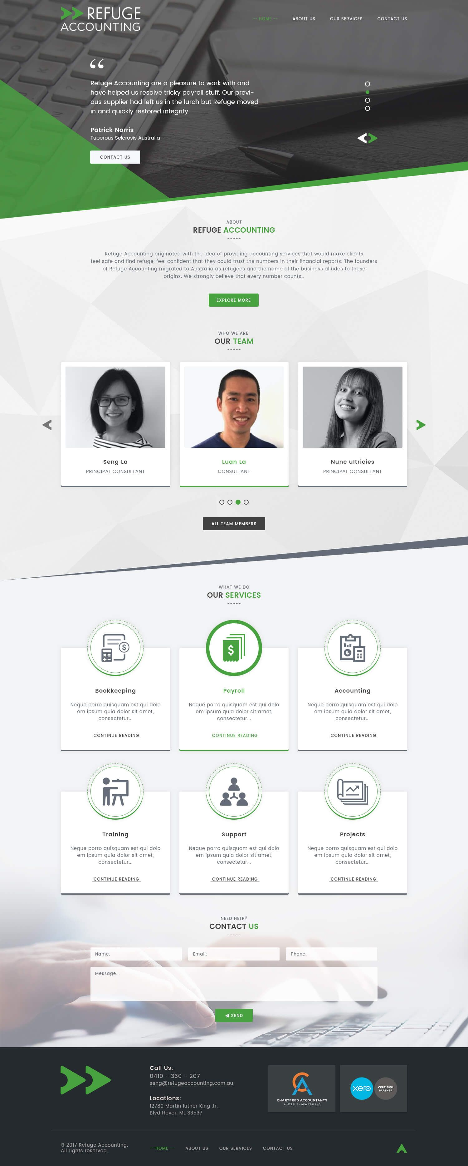 ca and accounting firm website templates if you are looking