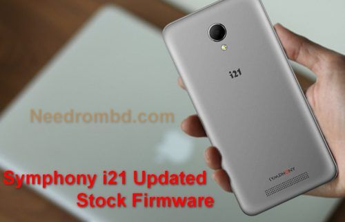Symphony i21 Official 100% Tested Firmware Rom | Smartphone Firmware