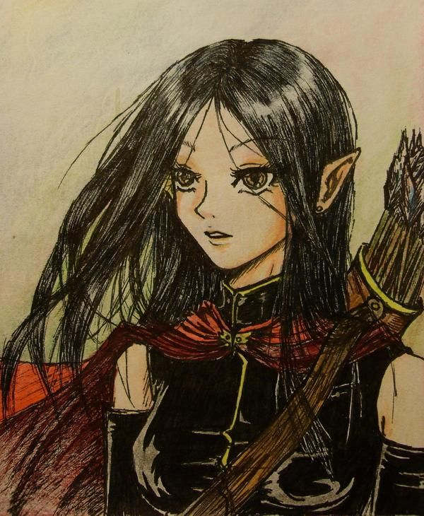 Arya Fan Art Eragon