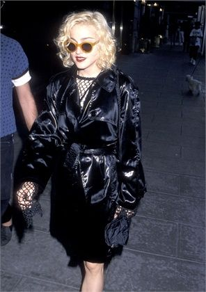 Madonna in the 90s fashion