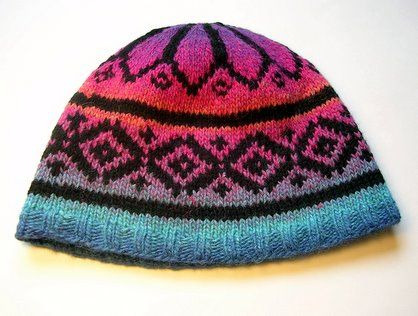 Fair Isle Hat Kathryn Ivy Archive More Fair Isle Filler Knit