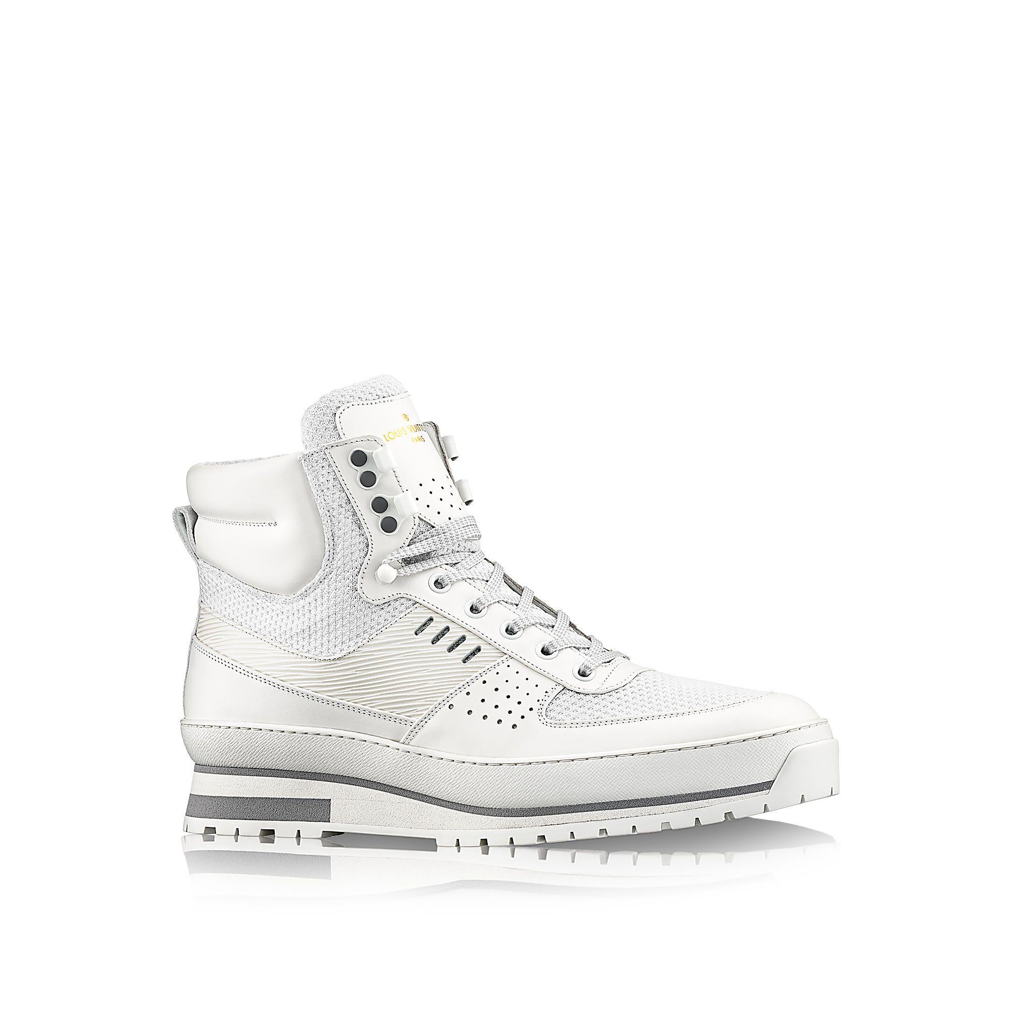 323ccb979d63 Harlem Sneaker via Louis Vuitton   Kicks   Sneakers, Shoes, Louis ...