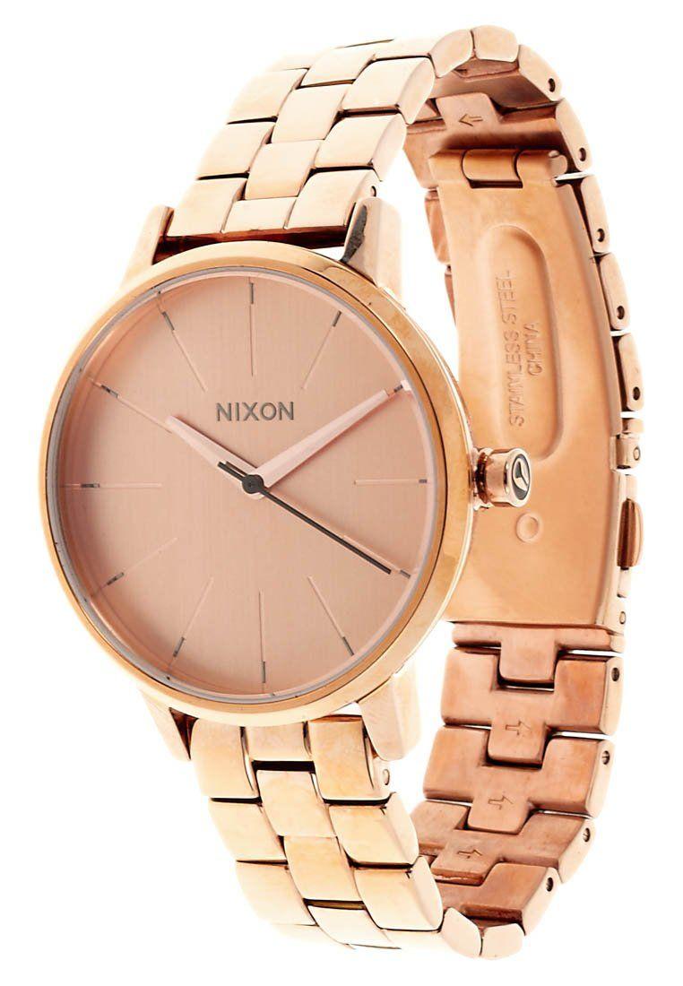 Nixon - KENSINGTON - Uhr - all rose gold