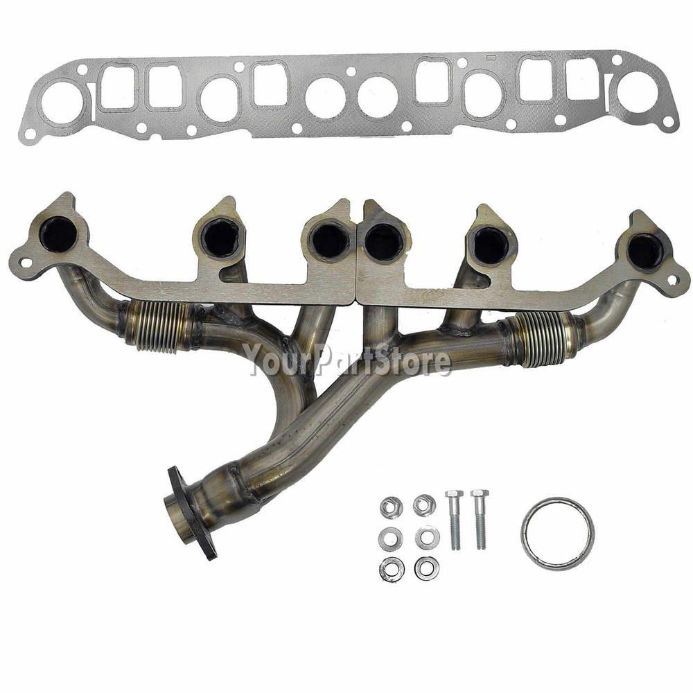 Jeep Wrangler Grand Cherokee 40l Improved Steel Exhaust Manifold Gasket Wj Tj Kit