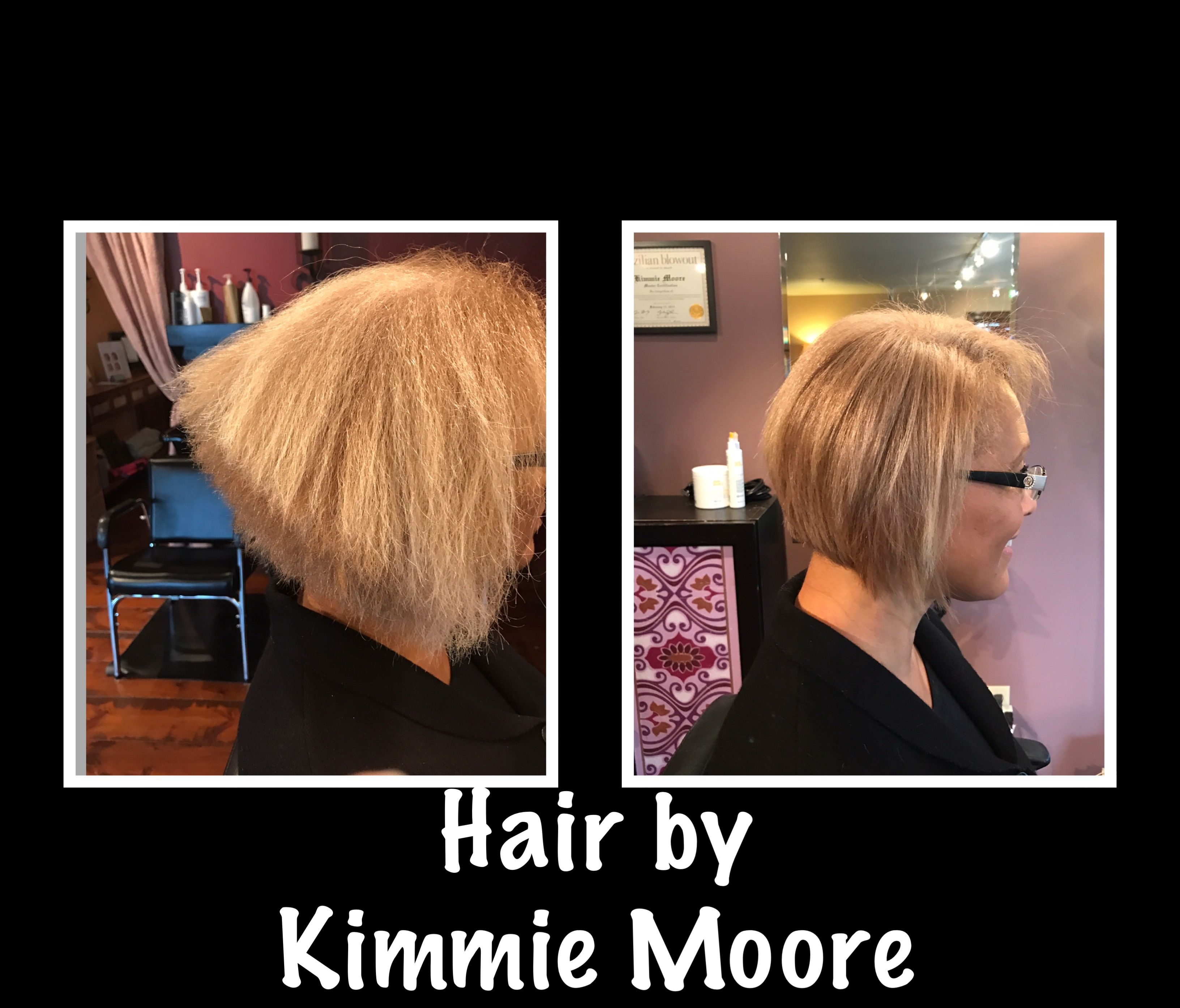 Hair Cut Correction By Kimmie Moore In Des Moines Washington
