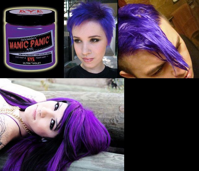 ShareViolet Night Manic Panic