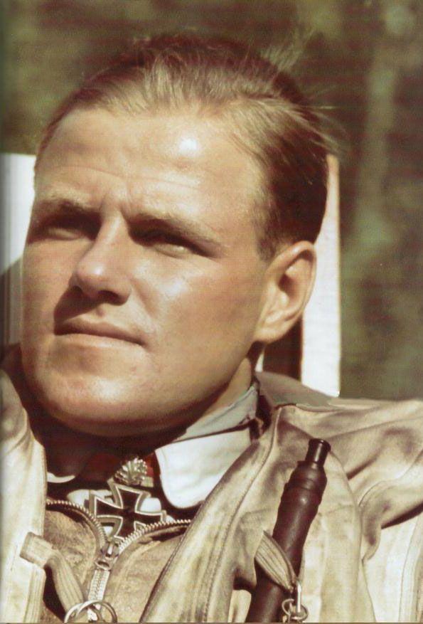Joachim Muncheberg Ritterkreuztrager Luftwaffe Fallschirmjager