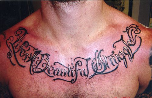 Chest Tattoos Script
