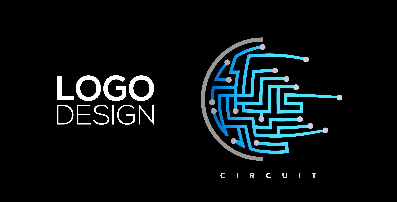 Professional Logo Design Adobe Illustrator Cc Circuit Logo Design Professional Logo Design Illustrator Tutorials,Date Of Birth Tattoos Designs