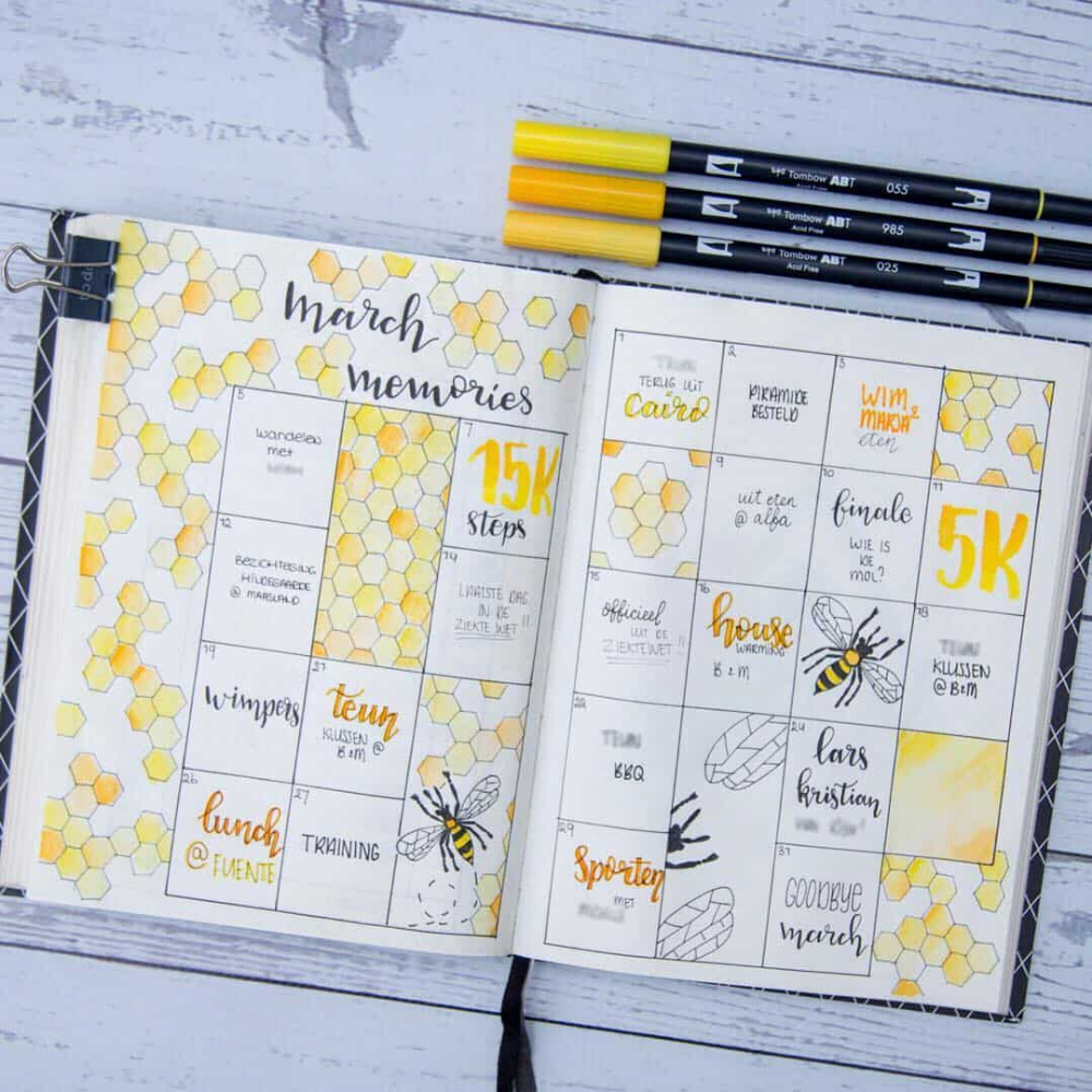 Why having a memory spread in your bullet journal is awesome (29 Examples) | My Inner Creative